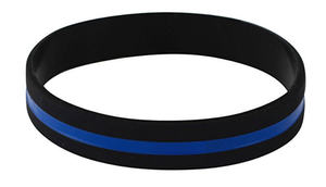Wristband - Thin Blue Line